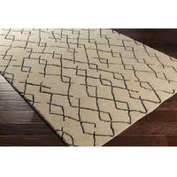 Hand-Knotted Canalasso Wool/Cotton Area Rug - 9' x 13'