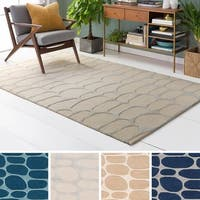 Hand-Tufted Cortlandt Wool Area Rug - 8' x 10'