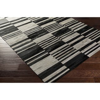 Hand-Crafted Coroico Leather Rug (8' x 10')