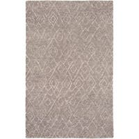 Hand-Knotted Canal Wool/Cotton Area Rug - 8' x 10'