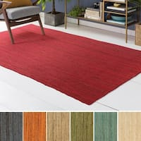 Palm Canyon Juan Hand-Woven Jute Area Rug - 8' x 10'