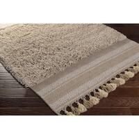 Hand-Woven Beekman Wool/Cotton Area Rug (8' x 10')