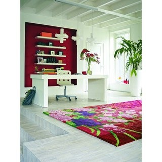 Hand-Knotted Elmwood New Zealand Wool Area Rug - 6' x 9'