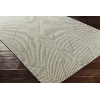 Hand-Knotted Beijing Wool/Cotton Rug (6' x 9')