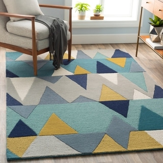 Hand-Tufted Country Wool Rug (5' x 7'6)