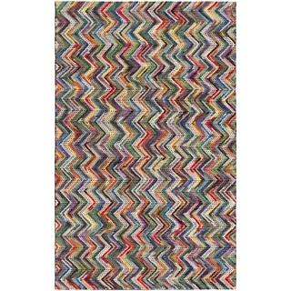 Hand-Woven Cabrini Wool Rug (5' x 7'6)