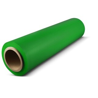 256 Rolls 18-inch 1500 Feet 63 Ga Green Pallet Hand Wrap Plastic Stretch film Quality