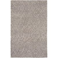 Hand-Knotted Canal Wool/Cotton Area Rug - 4' x 6'