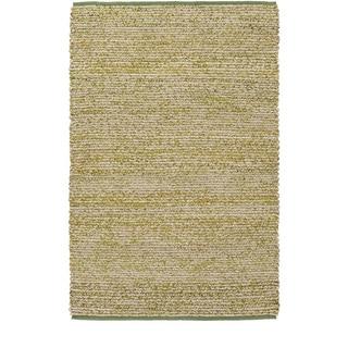Hand-Woven CanadaOntario Cotton/ Seagrass Rug (4' x 6')