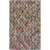 Hand-Woven Cabrini Wool Area Rug - 4' x 6'