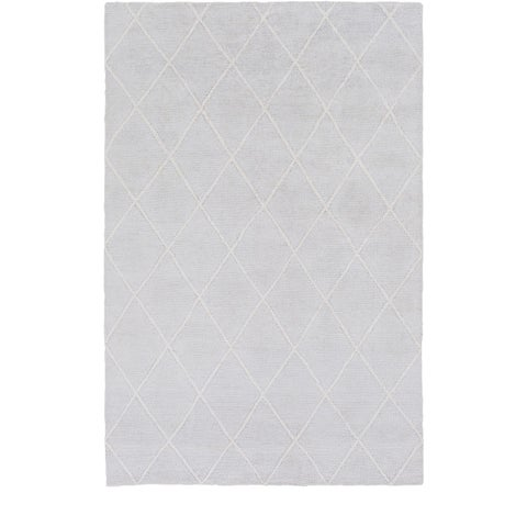 Silver Orchid Morlay Hand-Knotted Viscose Area Rug