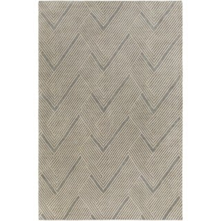 Hand-Knotted Beijing Wool/Cotton Rug (4' x 6')