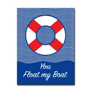 Ready2HangArt 'You Float my Boat' Canvas Art