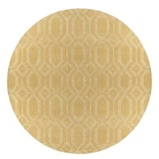Hand-Loomed Hinckley Wool Rug (9'9 Round)