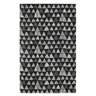 Charisma-Pyramid Rectangle Hand Tufted Rugs (5' x 8')