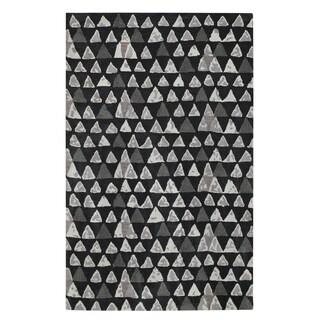 Charisma-Pyramid Rectangle Hand Tufted Rugs (5' x 8') - 5' x 8'