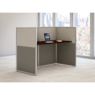 Bush Business Furniture Easy Office Straight Desk Closed Office