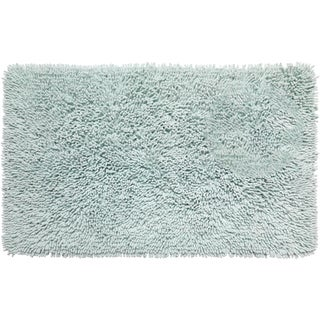 Shaggy Chenille Bathroom Rug
