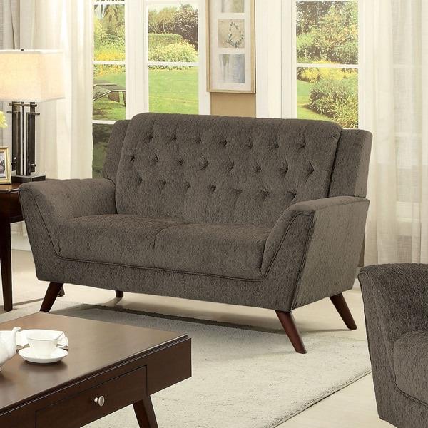 Shop Furniture Of America Regaldo Mid-Century Modern Grey