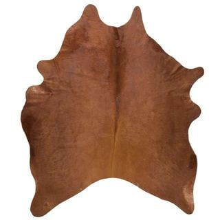 Andes Brown Cowhide Rug (4'4 x 6'6)