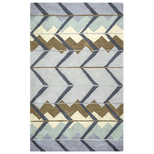 Rizzy Home Tumble Weed Loft Collection TL9149accent Rug - 2' x 3'
