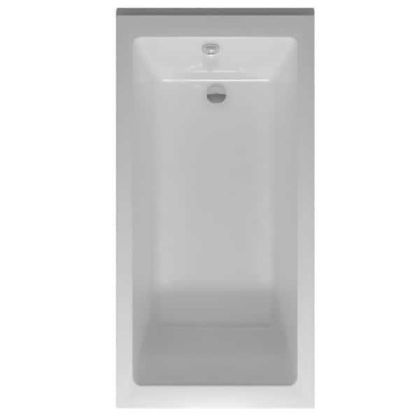 Fine Fixtures 66 Inch Soaking Drop In Or Alcove Bathtub   Free Shipping  Today   Overstock.com   18121120