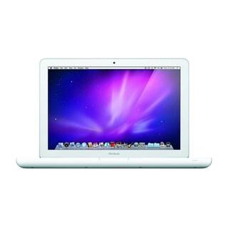 Apple MC516LL/A Macbook White Plastic 13.3-inch Core 2 Duo 4GB RAM 250GB HDD Sierra- Refurbished