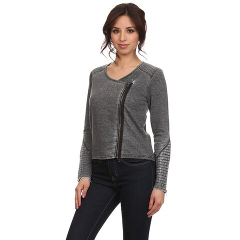 MOA Collection Women's Embroidered Detailed Jacket