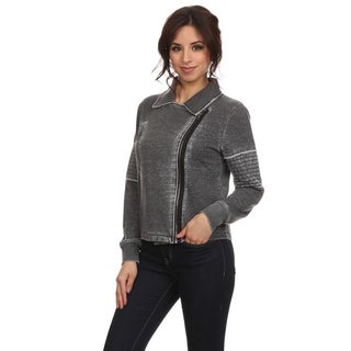 MOA Collection Women's Motorcycle Style Jacket
