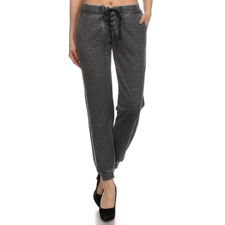 MOA Collection Women's Burnout Sweat Pants