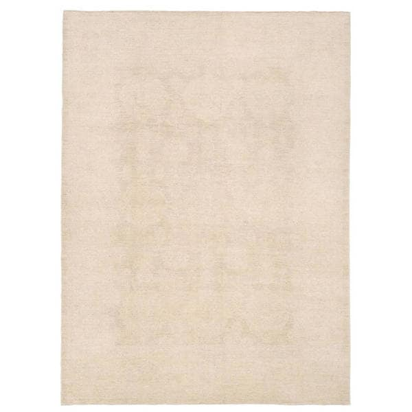Herat Oriental Afghan Hand-knotted Whitewashed Vegetable Dye Oushak Wool Rug (7'9 x 10')