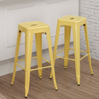 Tabouret 30-inch Canary Bar Stool (Set of 2)