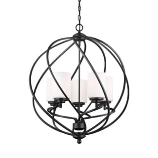 Sea Gull Goliad 5 Light Blacksmith Hall Foyer Fixture