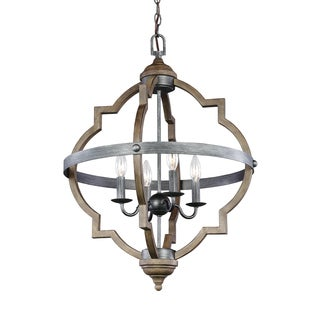 Sea Gull Socorro 4 Light Stardust Hall Foyer Fixture
