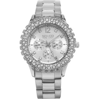 SO&CO New York Women's Quartz Stainless Steel Bracelet Watch