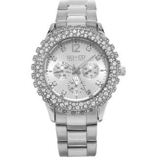 SO&CO New York Women's Quartz Stainless Steel Bracelet Watch