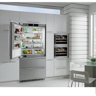 Liebherr CS 2061 NoFrost 36 inch Freestanding or Semi Built-in Refrigerator Freezer, Stainless Steel, Counter depth, Ice Maker|https://ak1.ostkcdn.com/images/products/11129229/P18129598.jpg?impolicy=medium