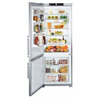Liebherr CS 1611 Premium NoFrost 30 inches Freestanding or Semi Built-in Refrigerator & Freezer, SmartSteel