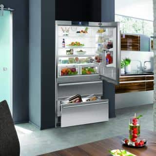 Liebherr CS 2062 Premium NoFrost 36 Inch Freestanding or Semi Built-in French Door Refrigerator/Freezer, Counter Depth Ice Maker|https://ak1.ostkcdn.com/images/products/11129274/P18129605.jpg?impolicy=medium