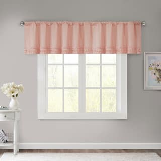 Madison Park Kylie Cotton Horizontal Ruffle Valance|https://ak1.ostkcdn.com/images/products/11129283/P18130066.jpg?impolicy=medium