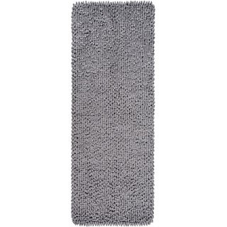 Hand-Crafted Chisholm Polyester Rug (2'6 x 8')