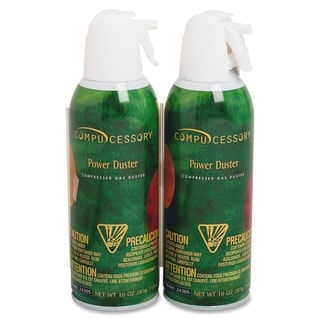 Compucessory Air Duster Cleaning Spray - Pack of 2