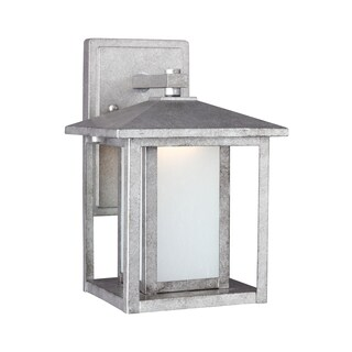 Sea Gull Hunnington LED Light Weathered Pewter Outdoor Fixture
