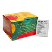 Compucessory Wet and Dry Cleaning Wipes - Box of 50