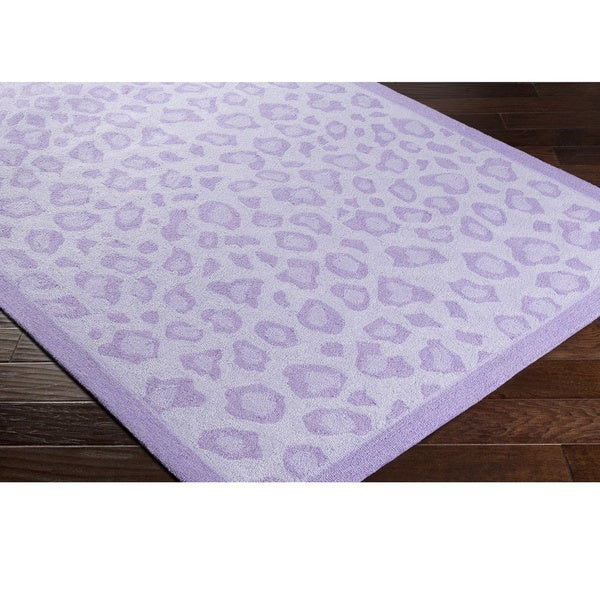 Hand-Hooked Cicero Poly Acrylic Area Rug