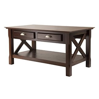 ashton coffee table with 3 drawers - free shipping today