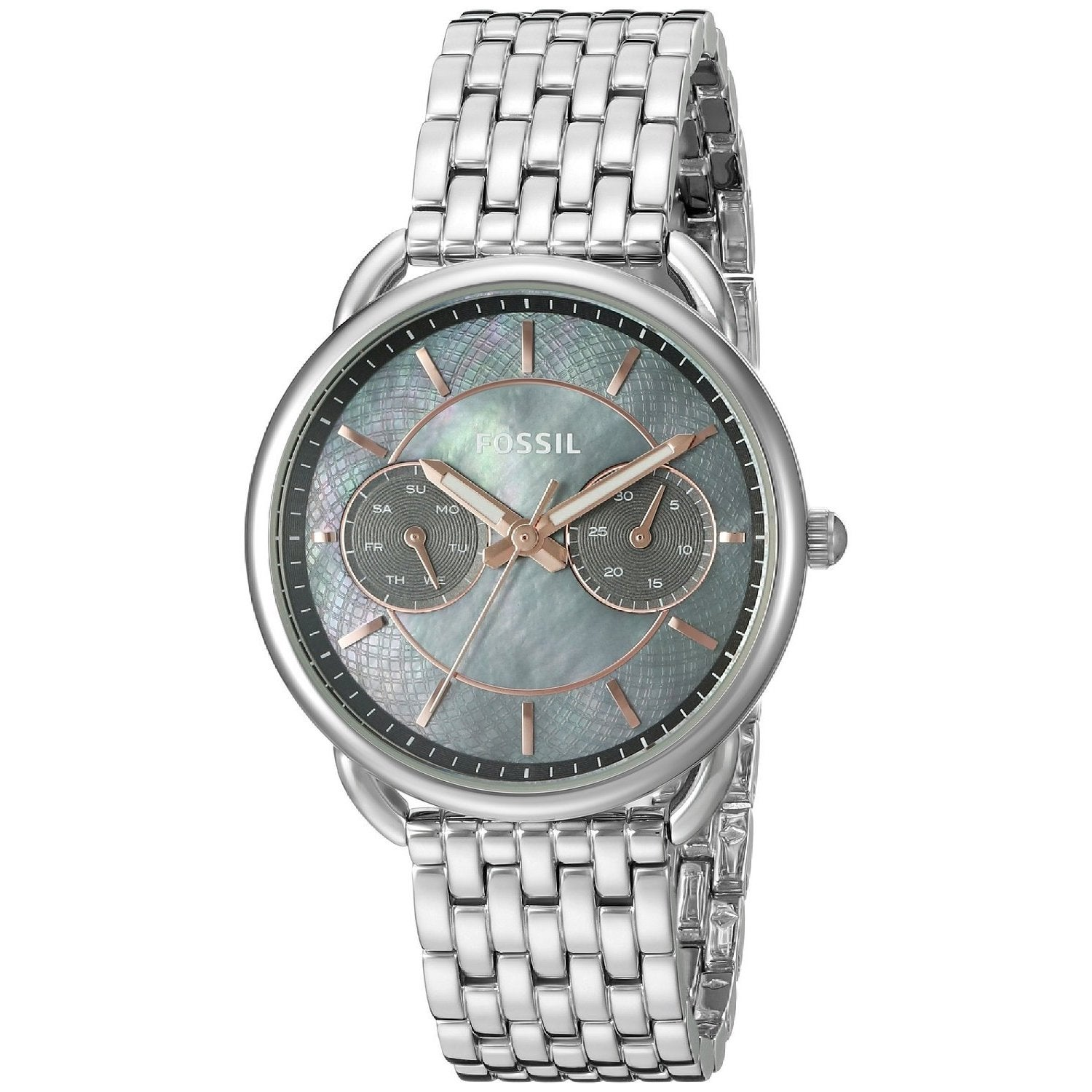 Fossil Women's ES3911 Tailor Multi-Function Grey Mother O...