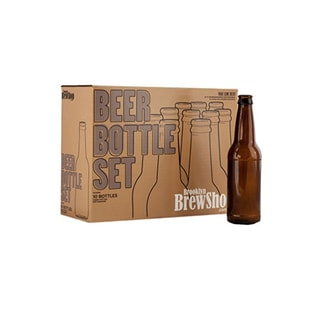Brooklyn Brew Shop Amber Bottles (Set of 10) - ACBBS