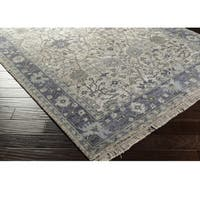 Hand-Knotted Crenshaw Wool/ Viscose Area Rug
