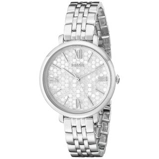 Fossil Women's ES3803 Jacqueline Mosaic Mother Of Pearl Dial Stainless Steel Bracelet Watch